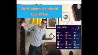 2019 Women's World Cup Draw Reaction
