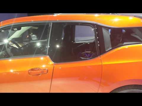 Världspremiär BMW i3