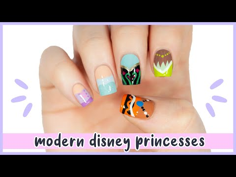 New Nail Art 2020 ♡ Modern Disney Princess Nail Designs!