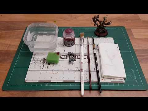 Toturial:Miniaturen bemalen für Anfänger german HD★ Realistische Blut Effekte malen★ How to paint