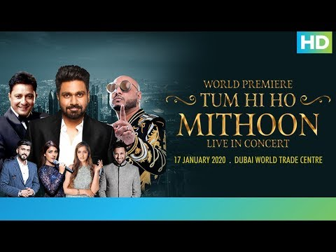 Mithoon Live Concert in Dubai | 17th January 2020 | Eros Now