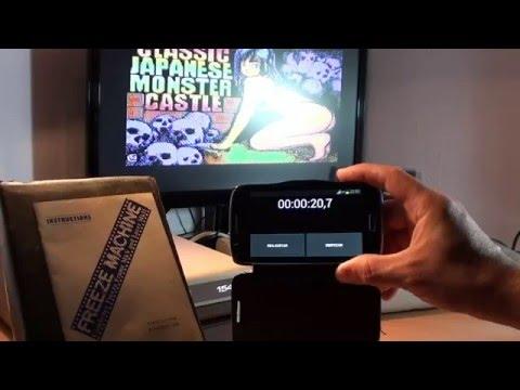 """Demo Carga """"Estándar"""" vs Carga """"Fastload"""" en C64 con Freeze Machine"""