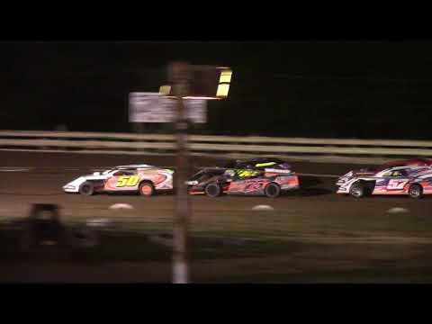 Hummingbird Speedway (7-10-21): Close Racing Supply Economod Feature - dirt track racing video image