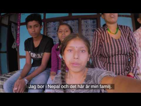 Pratiksha, fadderbarn i Nepal - Plan International