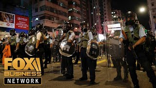 Could Hong Kong's protests trigger a global recession?
