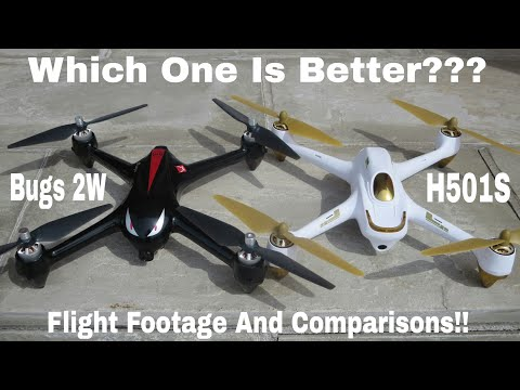 Hubsan h501s or Mjx Bugs 2W?? Which one is better?? Flight Footage and my opinion - UCAb65iSPBDpsO04dgbE-UxA