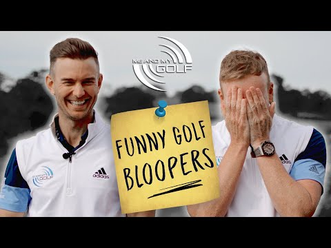 FUNNY Golf BLOOPERS | Me and My Golf