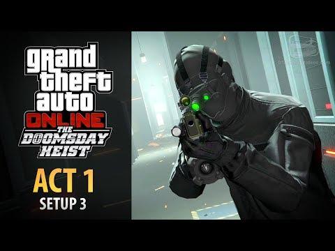 GTA Online: Doomsday Heist Act #1 - Setup: Server Farm (Elite & Mastermind II)