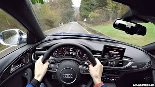 POV Drive in the 605HP Audi RS6 Performance – LOUD Sounds  Exhaust Crackles!