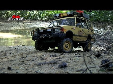 Water Mud Trails RC Trucks Scale offroad 4x4 adventures Axial Jeep Land Rover Discovery - UCfrs2WW2Qb0bvlD2RmKKsyw