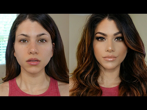 FULL COVERAGE MAKEUP TUTORIAL! - UCW6MKQtz-vrqpC7D7qJ3Baw