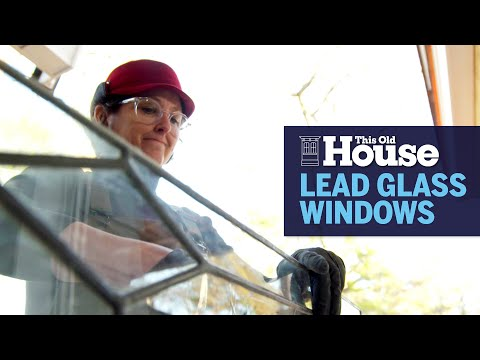 How to Restore Leaded Glass Windows | This Old House