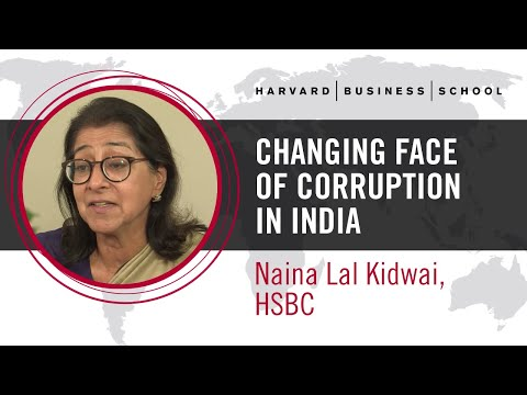 HSBC's Naina Lal Kidwai: Changing Face of Corruption in India