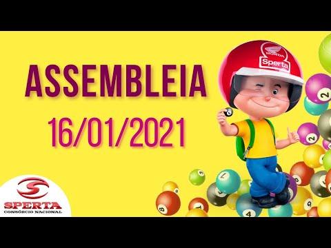 Sperta Consórcio - Assembleia - 16/01/2021