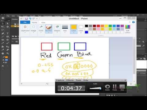 Actionscript 3- 75- تغيير خاصية اللون