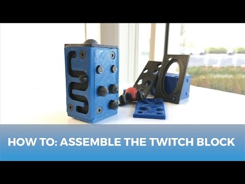 How To: Assemble The Twitch Block // 3D Printed Fidget Cube