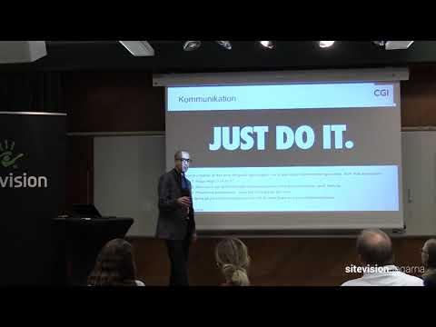 Snabbare modernisering av verksamheten med digital marknadskommunikation - SiteVisiondagarna 2018