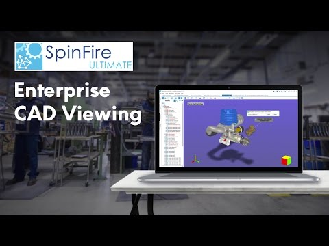 Actify SpinFire Ultimate - Communicate design data throughout the enterprise