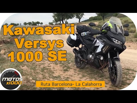 En Ruta con la Kawasaki Versys 1000 | Barcelona a La Calahorra