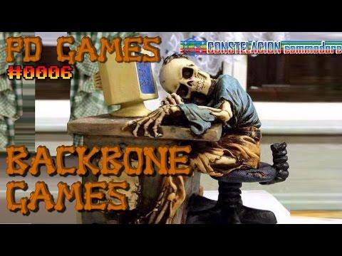 PD Games #0006 : Juegos creados con el gamemaker Backbone (Amiga)