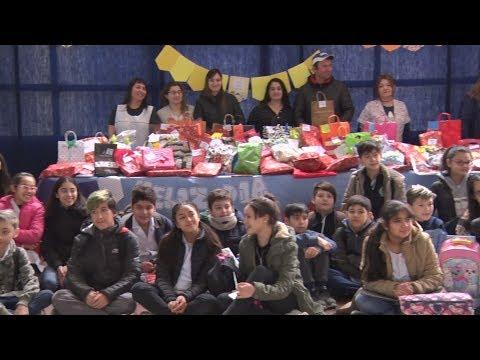La EPP N° 71 donaron juguetes al Comedor de Juan Romero