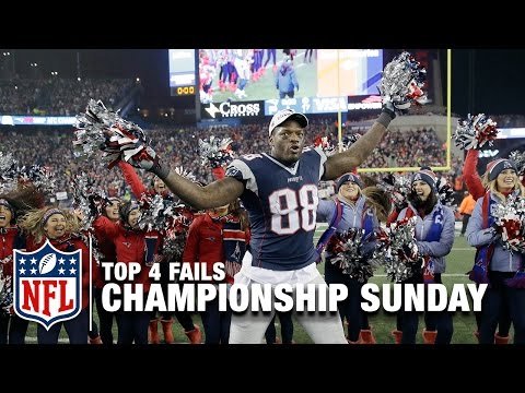 Top 4 Fails (Championship Sunday) | The Shek Report | NFL NOW