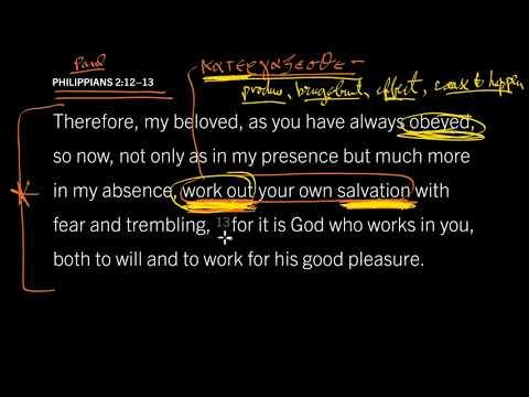 Philippians 2:12–13 // How Obedient Christians 'Produce' Salvation