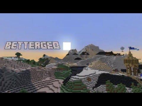 BetterGeo - verklighetstrogen geologi i Minecraft!
