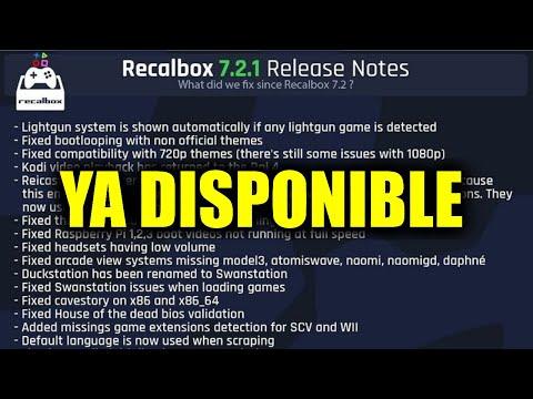 Actualización Recalbox 7.2.1 - LOS 35 BUGS ARREGLADOS ¿Habrán mas fallos?