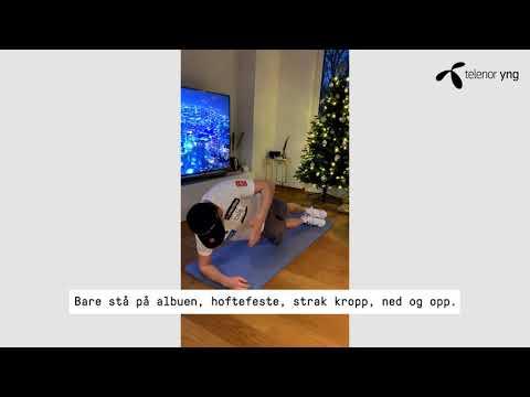Tren hjemme: Core med Henrik | Telenor Norge