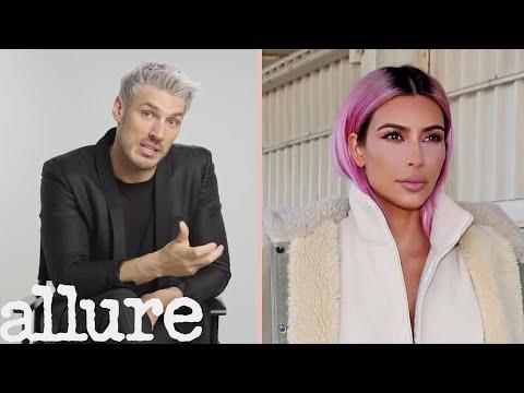 Kim Kardashian's Hairstylist Breaks Down Her Most Iconic Looks | Allure