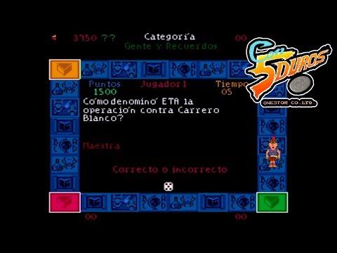 """TRIVIAL PURSUIT (SPANISH) - """"CON 5 DUROS"""" Episodio 766 (Especial 6 jug + Partida Trivial Wii) (1cc)"""