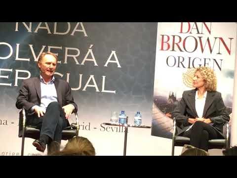 Dan Brown lanserer «Opprinnelse» i Barcelona