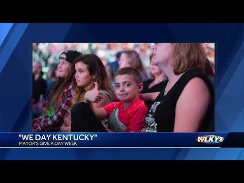 Get involved in We Day Kentucky