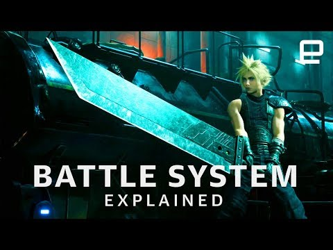 Final Fantasy VII Remake Battle System Explained at E3 2019 - UC-6OW5aJYBFM33zXQlBKPNA