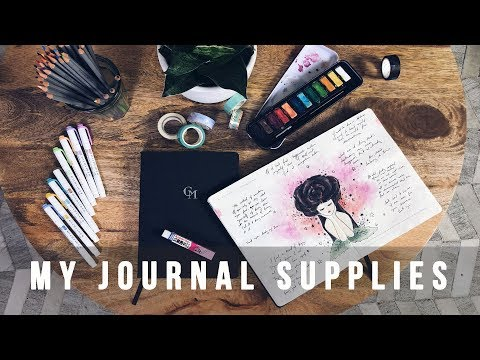 MUST HAVE JOURNALING SUPPLIES FOR BEGINNERS 2019 | ANN LE