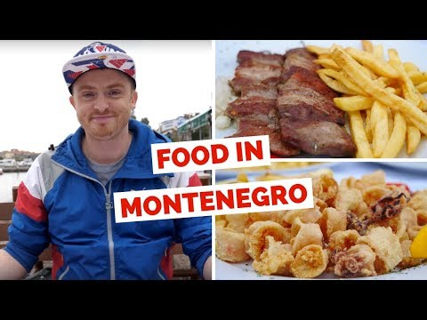 Montenegrin Cuisine – Trying local food in Budva, Montenegro