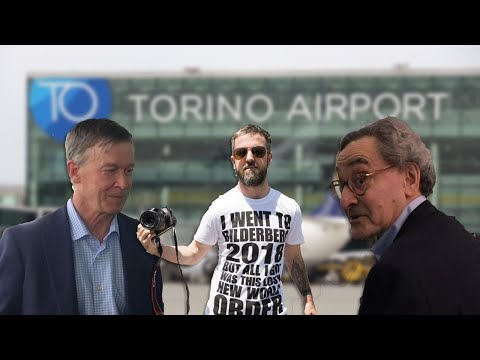 Confronting Bilderberg Members At The Airport - Shine Light On The Darkness And Watch Them Scatter!