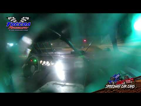 #11 Derrick Harvey - Limited Late Model - 9-5-21 Toccoa Raceway - In-Car Camera - dirt track racing video image