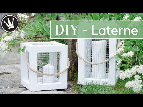 DIY - Laterne aus Holz bauen | Sommerdeko selber machen | Deko für Balkon und Terrasse | How to