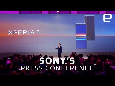 Sony's IFA 2019 press conference in 5 minutes - UC-6OW5aJYBFM33zXQlBKPNA