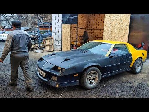 Chevrolet Camaro. Первый выезд в город!