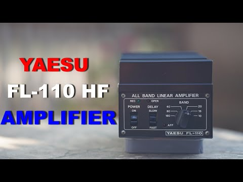 Yaesu FL 110 is this the easiest to use HF amplifier for QRP radios? KX2, KX3, IC705, FT817,G90.