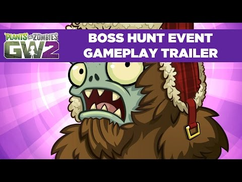 Boss Hunt Event Gameplay Trailer | Plants vs. Zombies Garden warfare 2