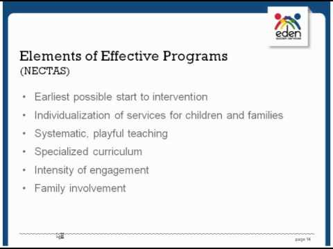 Early Identification and Effective Early Intervention Programming for Young Children with Autism BCBA Session