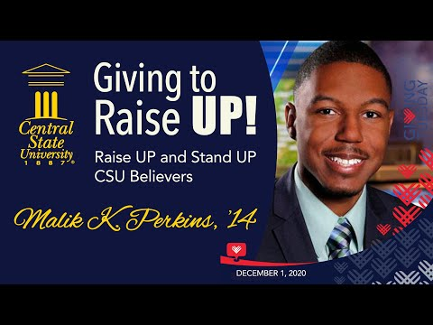 Giving to Raise UP! -  Alumnus Malik Perkins '14