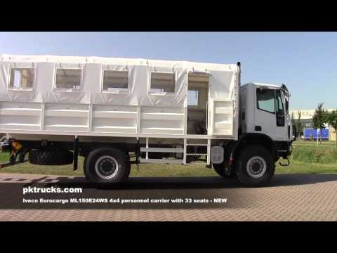 iv3783 Iveco Eurocargo Personnel Carrier