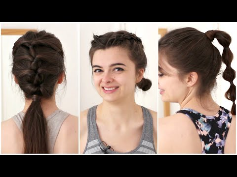 Sturdy & Cute Hairstyles For Workouts 🏋🏻♀️