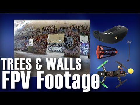 FPV SkyZone DVR/Video Signal Quality Behind Trees and Walls Sample Footage. - UCOT48Yf56XBpT5WitpnFVrQ