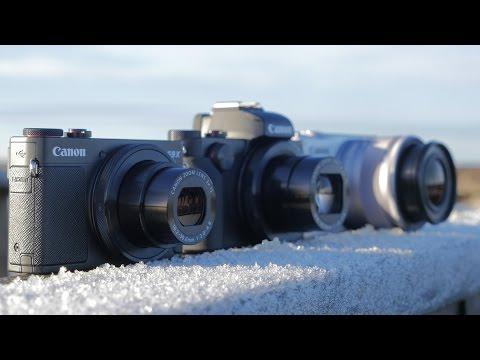 Canon PowerShot G9 X, G5 X och EOS M10 - Tips & tankar